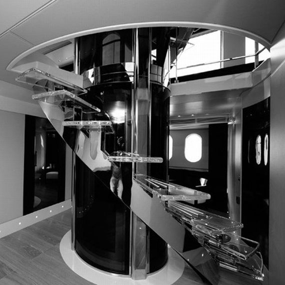 y6 Exempel på glamorösa yachtinredning som kommer att förvåna dig
