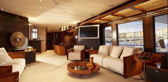 y10 Exempel på glamorösa yachtinredning som kommer att förvåna dig