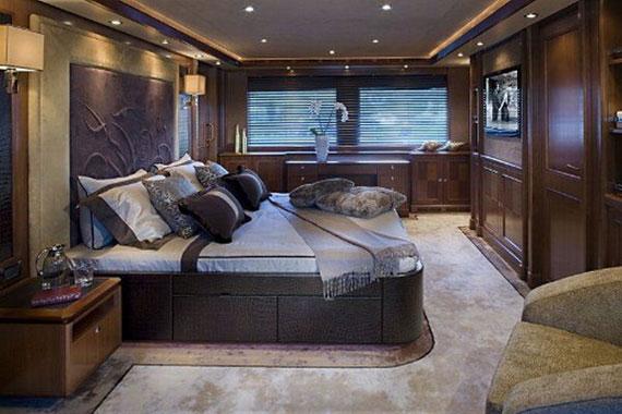 y37 Exempel på glamorösa yachtinredning som kommer att förvåna dig