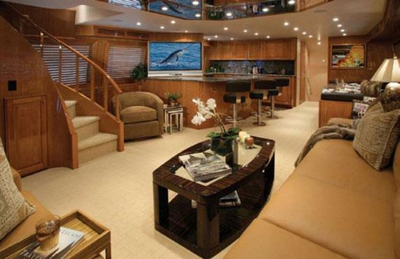 y26 Exempel på glamorösa yachtinredning som kommer att förvåna dig