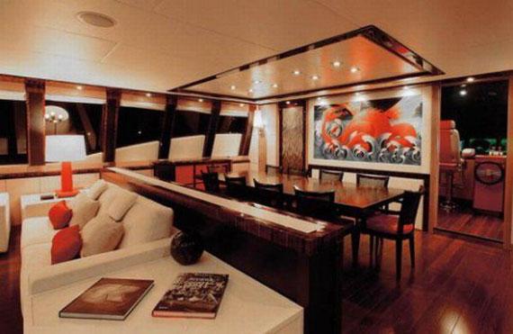 y36 Exempel på glamorösa yachtinredning som kommer att förvåna dig