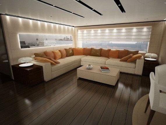 y39 Exempel på glamorösa yachtinredning som kommer att förvåna dig