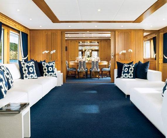 y21 Exempel på glamorösa yachtinredning som kommer att förvåna dig