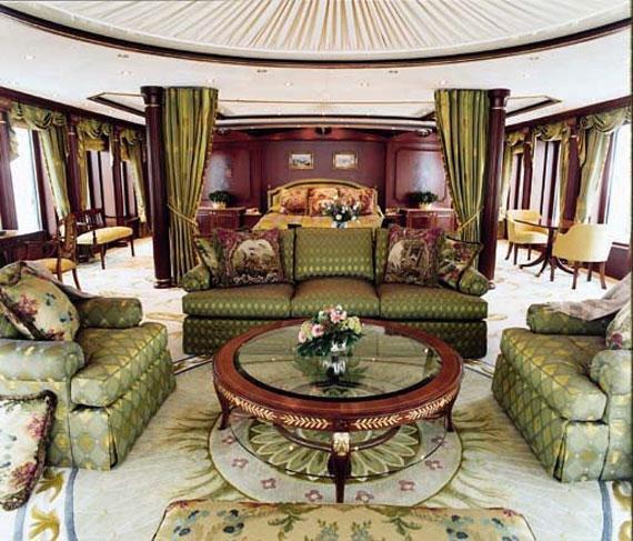y34 Exempel på glamorösa yachtinredning som kommer att förvåna dig