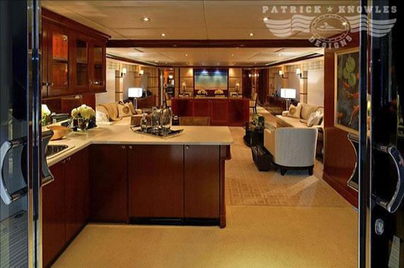 y27 Exempel på glamorösa yachtinredning som kommer att förvåna dig