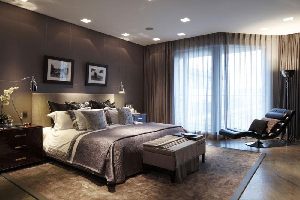 Moderna och eleganta sovrum designade av inredningsarkitekter-4 Moderna och eleganta rum designade av inredningsarkitekter