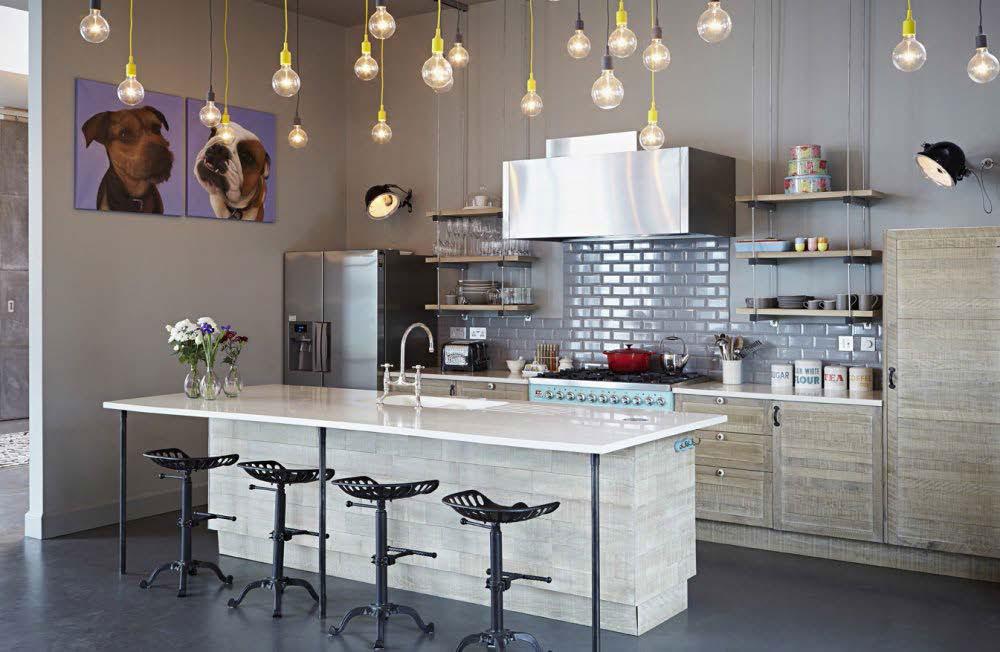Färg- och färgidéer för kök 4 färg- och färgidéer för kök