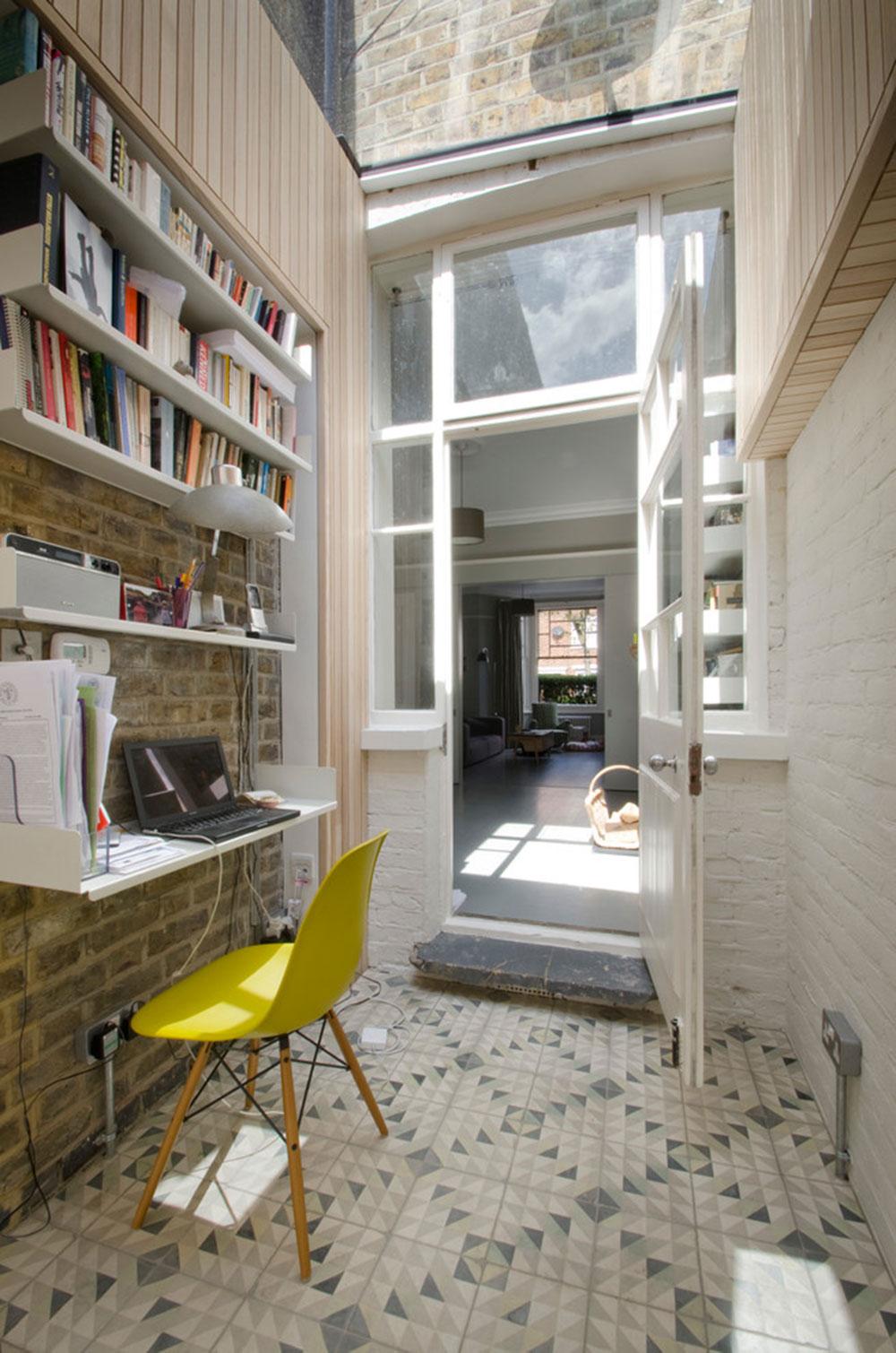 DIY-vägg-skrivbord-för-ett-trevligt-jobb9 DIY väggmonterat skrivbord designidéer
