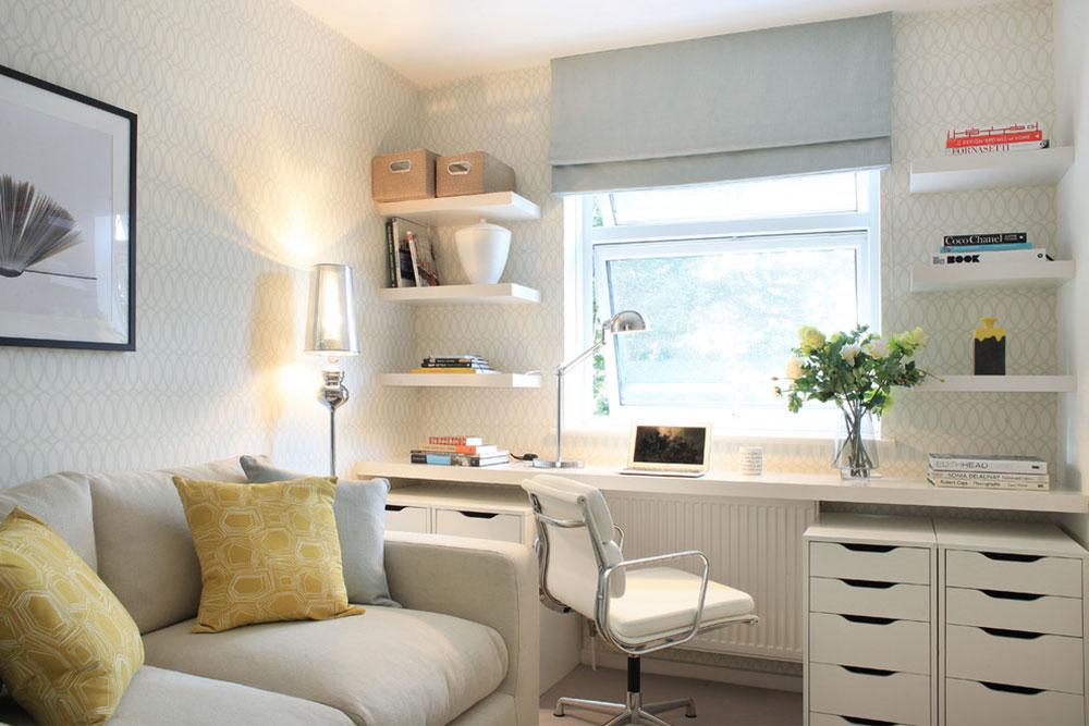DIY-vägg-skrivbord-för-ett-trevligt-jobb2 DIY vägg-skrivbord designidéer