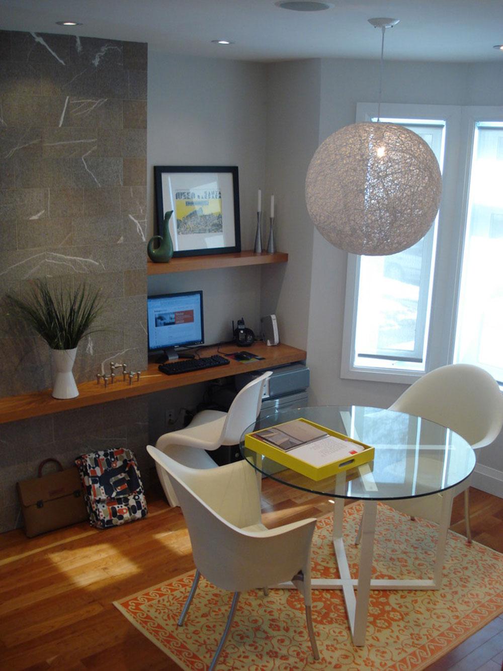 DIY-vägg-skrivbord-för-en-trevlig-jobb3 DIY vägg-skrivbord designidéer