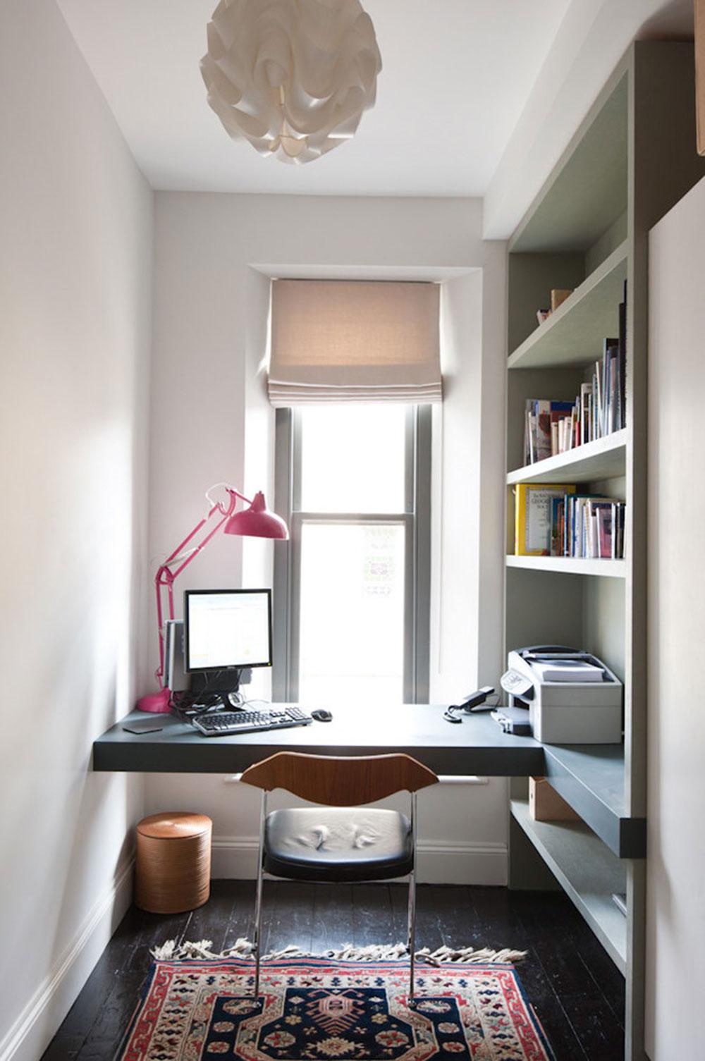 DIY-vägg-skrivbord-för-en-trevlig-jobb10 DIY väggmonterade skrivbord designidéer