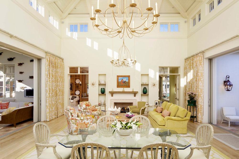 Dekorera med en gul soffafärg17 Dekorera med en gul soffa