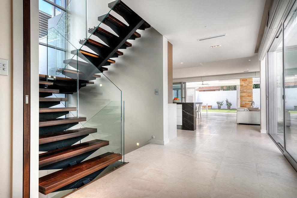 Samtida tre våningar hem designat av Signature Custom Homes-8 Samtida tre våningar hem designat av Signature Custom Homes