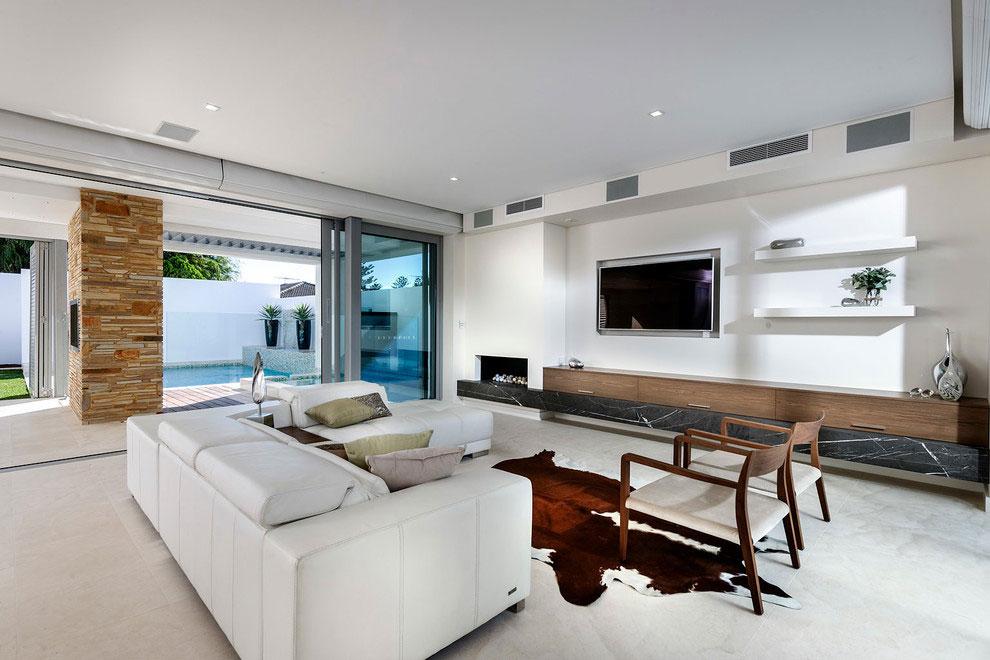 Samtida tre våningar hem designat av Signature Custom Homes-2 Samtida tre våningar hem designat av Signature Custom Homes