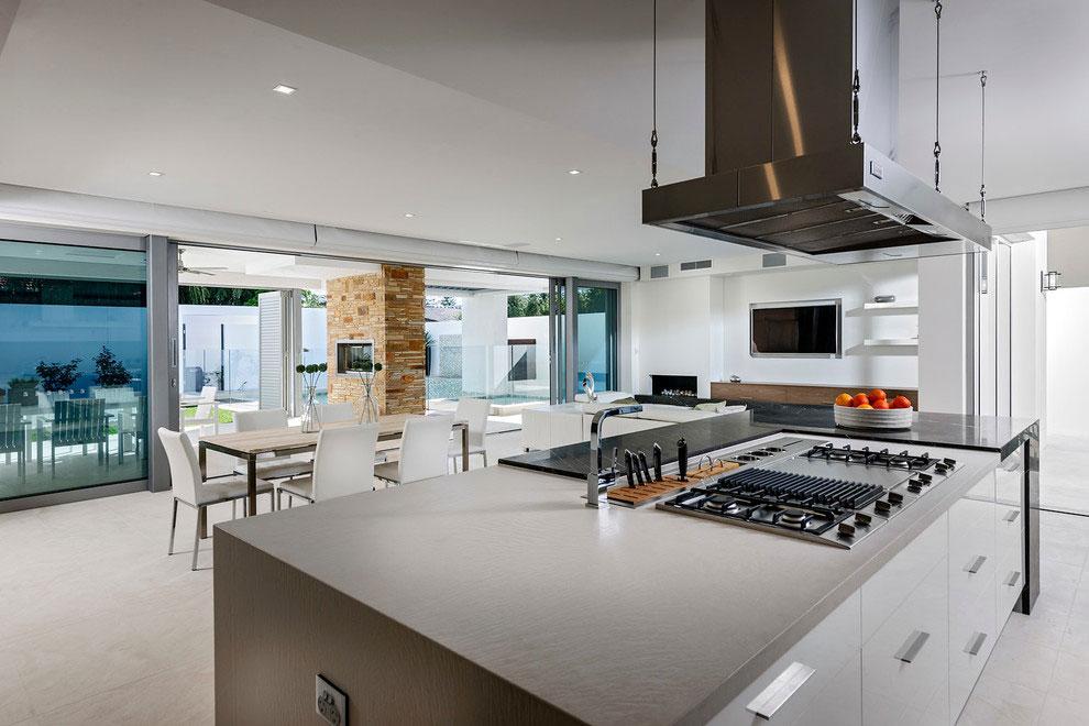 Samtida tre våningar hem designat av Signature Custom Homes-6 Samtida tre våningar hem designat av Signature Custom Homes