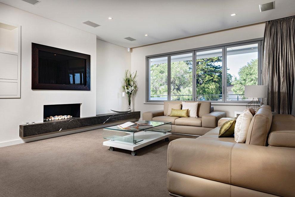 Samtida tre våningar hem designat av Signature Custom Homes-3 Samtida tre våningar hem designat av Signature Custom Homes