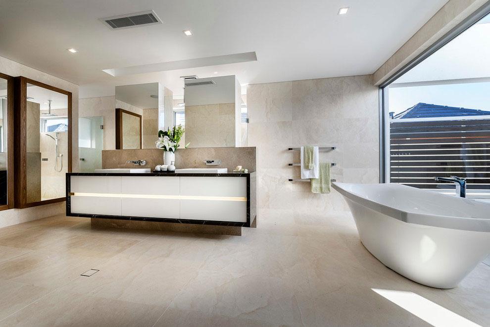 Samtida tre våningar hem designat av Signature Custom Homes-9 Samtida tre våningar hem designat av Signature Custom Homes