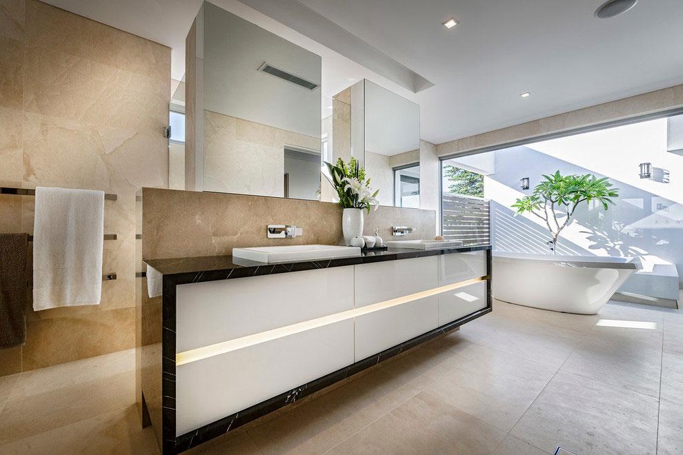 Samtida tre våningar hem designat av Signature Custom Homes-10 Samtida tre våningar hem designat av Signature Custom Homes