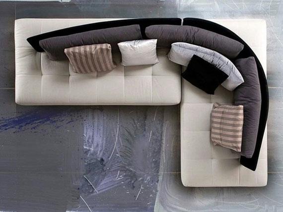 s8 En utställning med moderna exempel på soffdesign