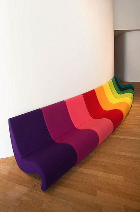 s25 En utställning med moderna exempel på soffdesign