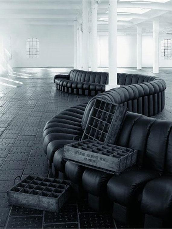s3 En utställning med moderna exempel på soffdesign