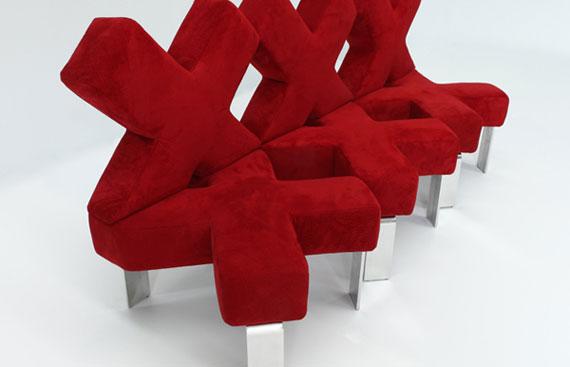 s4 En utställning med moderna exempel på soffdesign