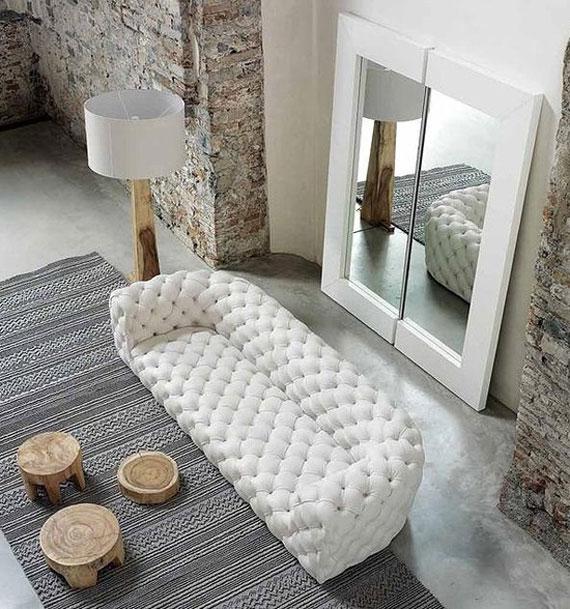 s7 En utställning med moderna exempel på soffdesign