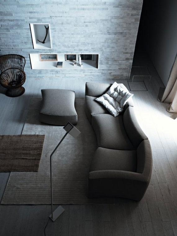 s32 En utställning med moderna exempel på soffdesign