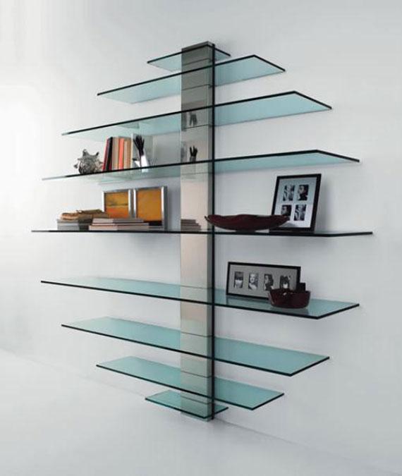 f5 Intressanta flytande bokhyllor som skulle se bra ut på dina väggar