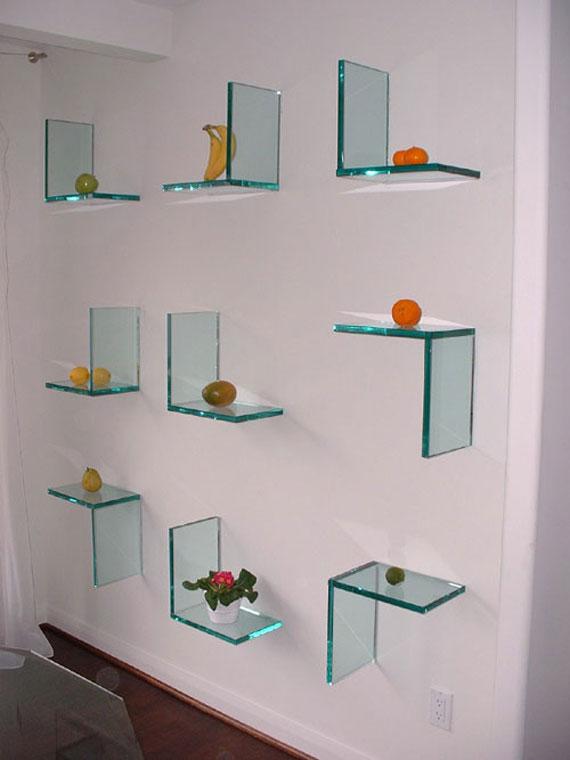 f13 Intressanta flytande bokhyllor som skulle se bra ut på dina väggar