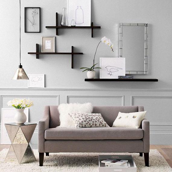 f17 Intressanta flytande bokhyllor som skulle se bra ut på dina väggar