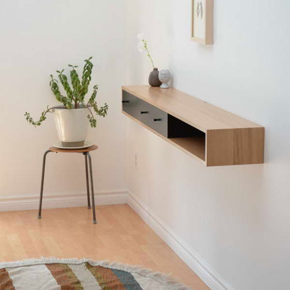 f9 Intressanta flytande bokhyllor som skulle se bra ut på dina väggar