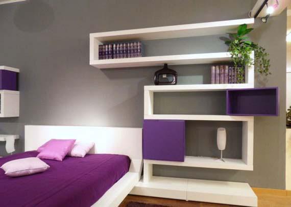 f12 Intressanta flytande bokhyllor som skulle se bra ut på dina väggar