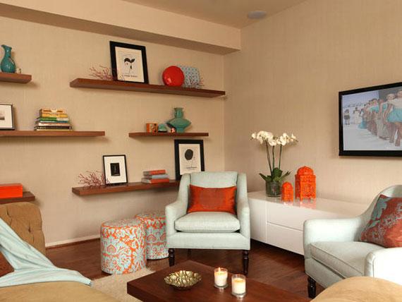 f33 Intressanta flytande bokhyllor som skulle se bra ut på dina väggar