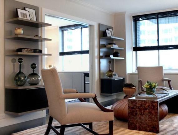 f40 Intressanta flytande bokhyllor som skulle se bra ut på dina väggar