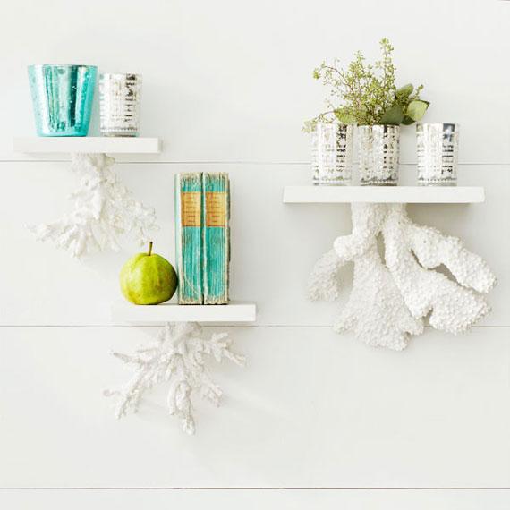 f21 Intressanta flytande bokhyllor som skulle se bra ut på dina väggar