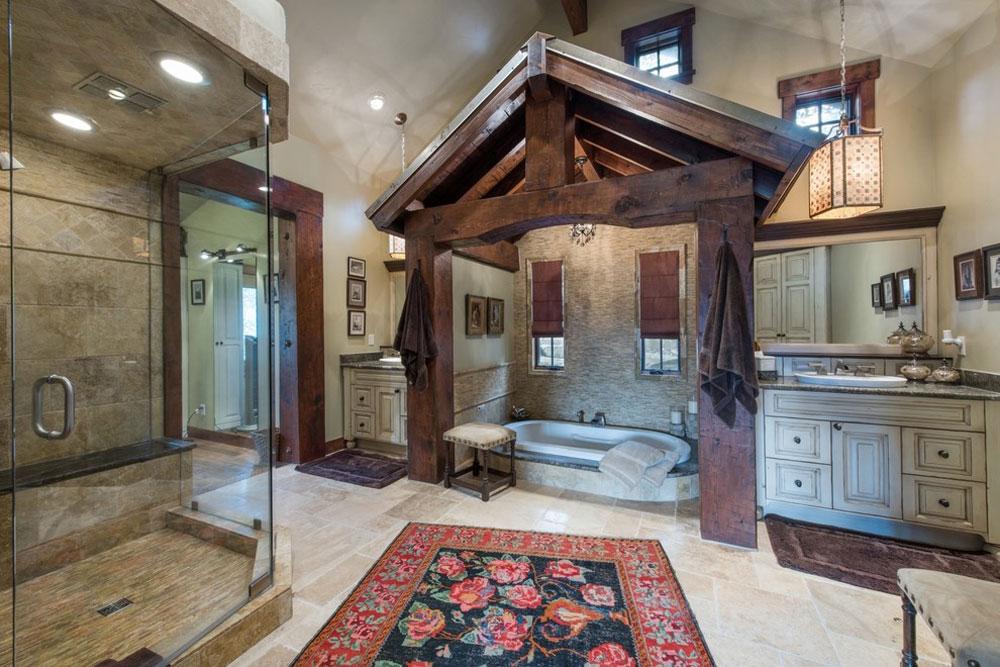 Bear-View-by-Alexander-Design-Build Rustik badrumsdesign: idéer, fåfänga, dekor och belysning