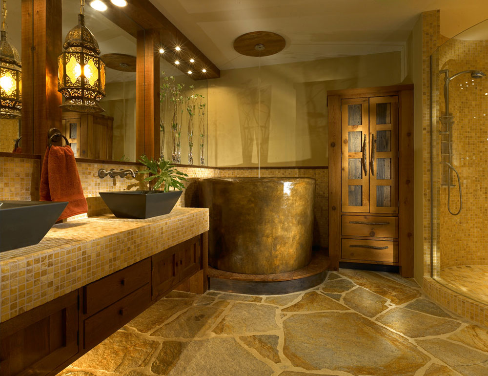 Custom-Bath-wth-Japanese-by-Jonathan-McGrath-Construction-LLC Rustik badrumsdesign: idéer, fåfänga, dekor och belysning