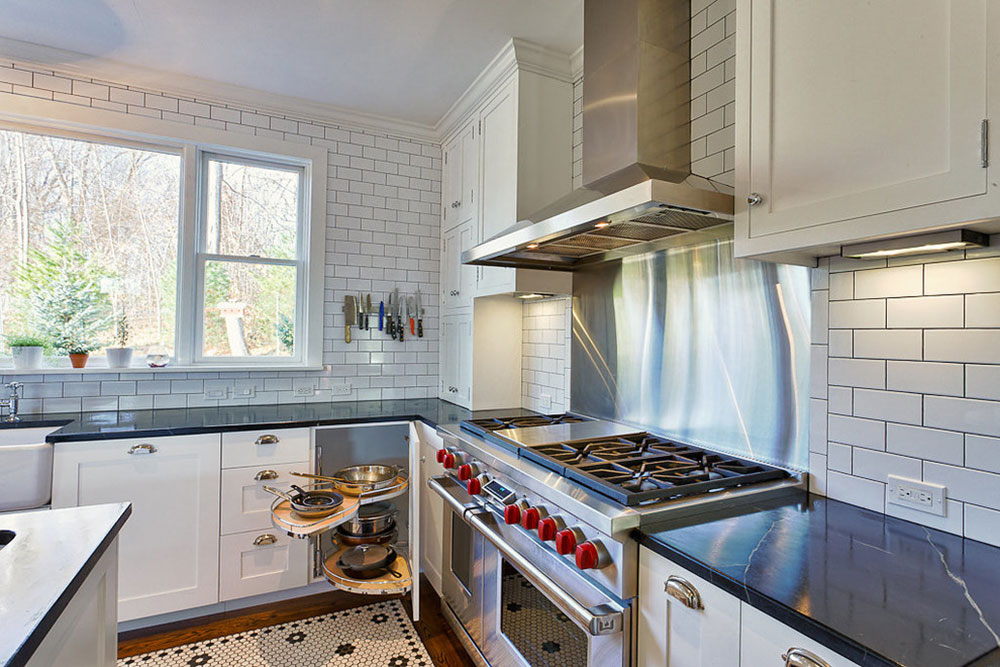 White-tile-backsplashes-don't-to-be-be-boring2 White Tile Backsplash Design-Idéer