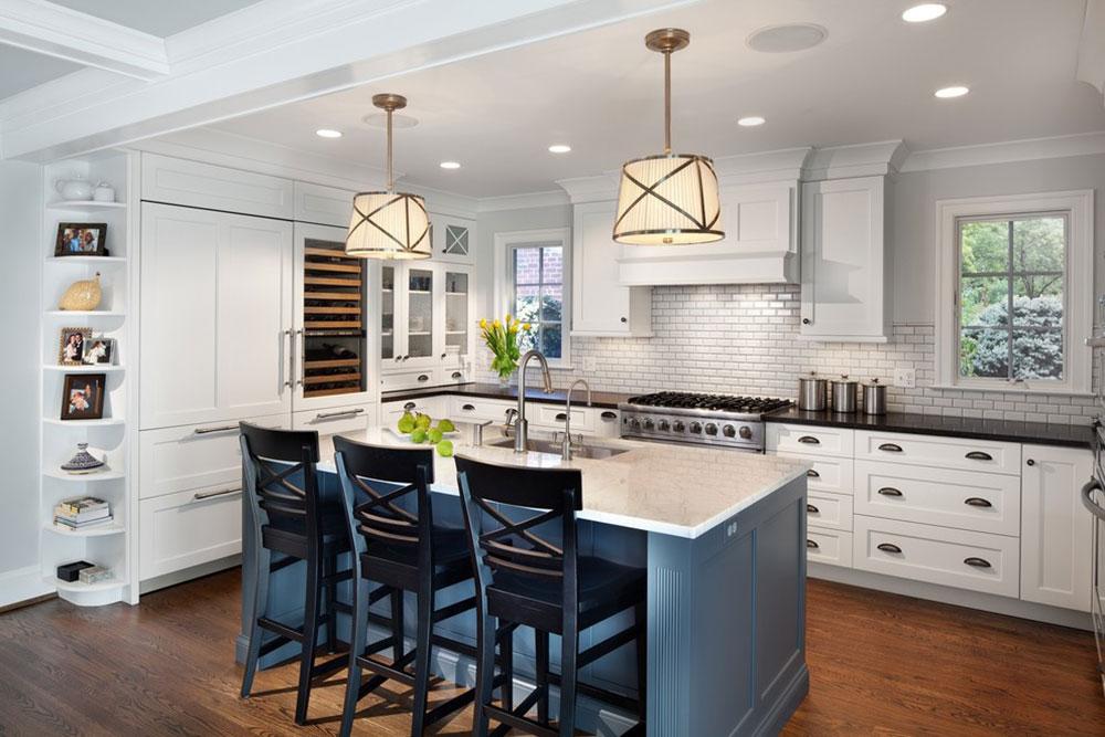 White-Tile-Backsplashes-don't-to-be-be-boring12 White Tile Backsplash Design Idéer