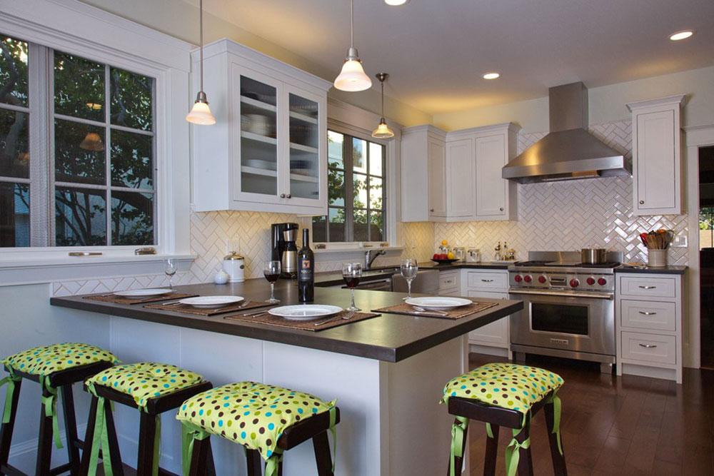 White-Tile-Backsplashes-don't-to-be-be-boring6 White Tile Backsplash Design Idéer