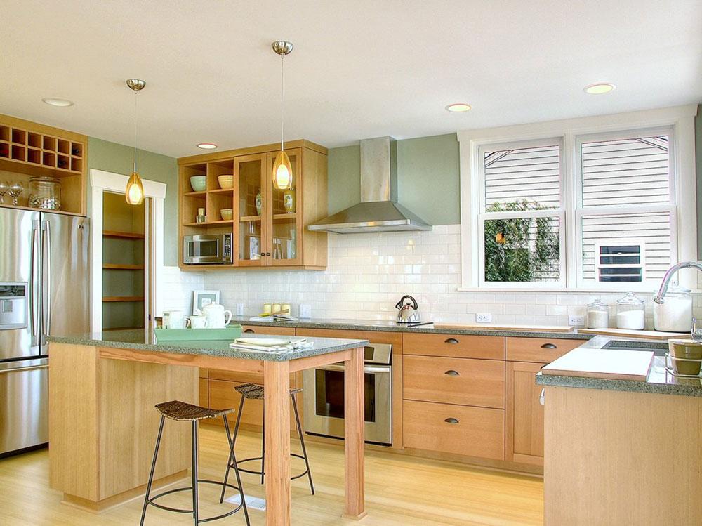 White-tile-backsplashes-don't-have-to-be-boring-10 White Tile Backsplash Design Idéer