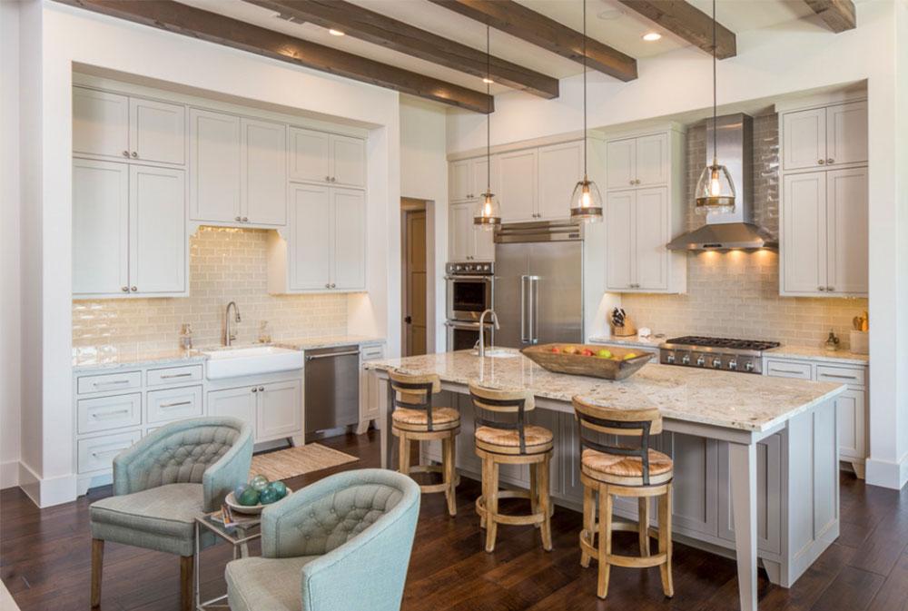 Bild-14-15 Lantligt kök - design, stil och idéer