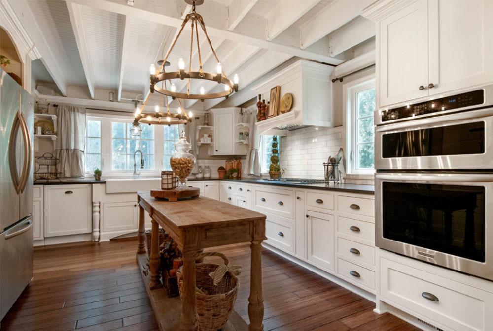 Bild-6-15 Lantligt kök - design, stil och idéer