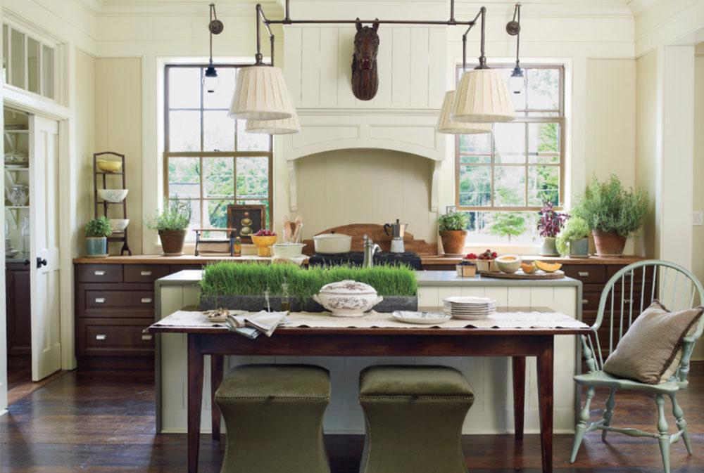 Bild-8-15 Lantligt kök - design, stil och idéer