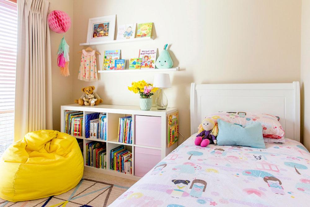 Girls-Room-by-My-Beautiful-Abode Idéer för barnrum som är helt fantastiska