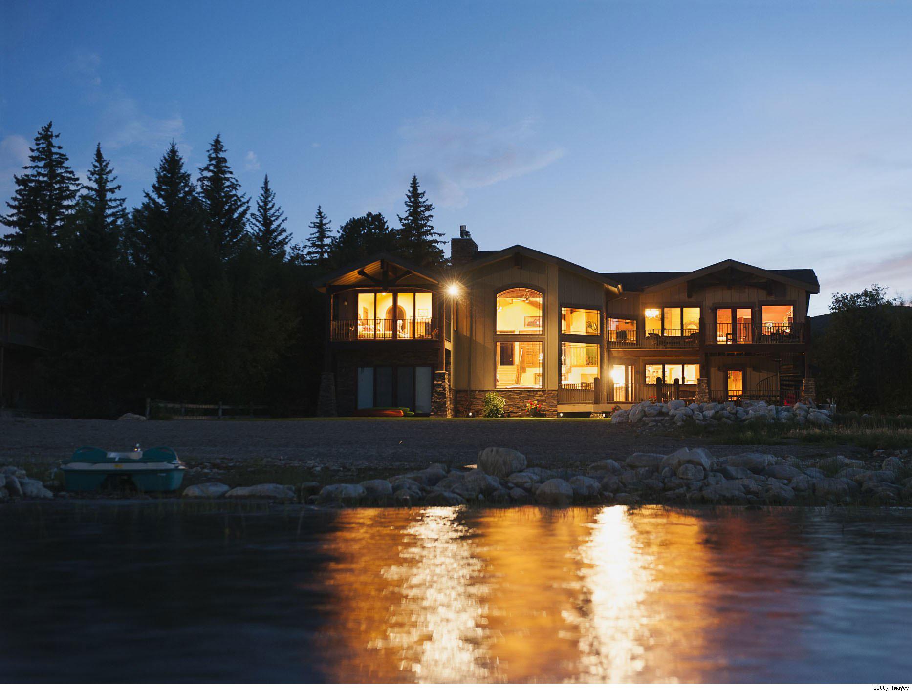 Lake-Cabin-Design-Ideas-That-Will-Inspire-11 Lake Cabin Design-Ideas som kommer att inspirera dig