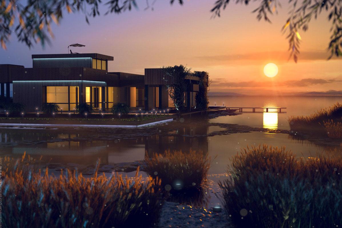 Sjö-stuga-design-idéer-som-kommer-inspirera-du-9-sjöstuga-designidéer som kommer att inspirera dig