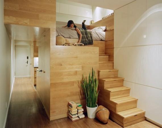Bild av: Idéer för sovrumsinredning i små utrymmen med 7 kreativa mönster från-