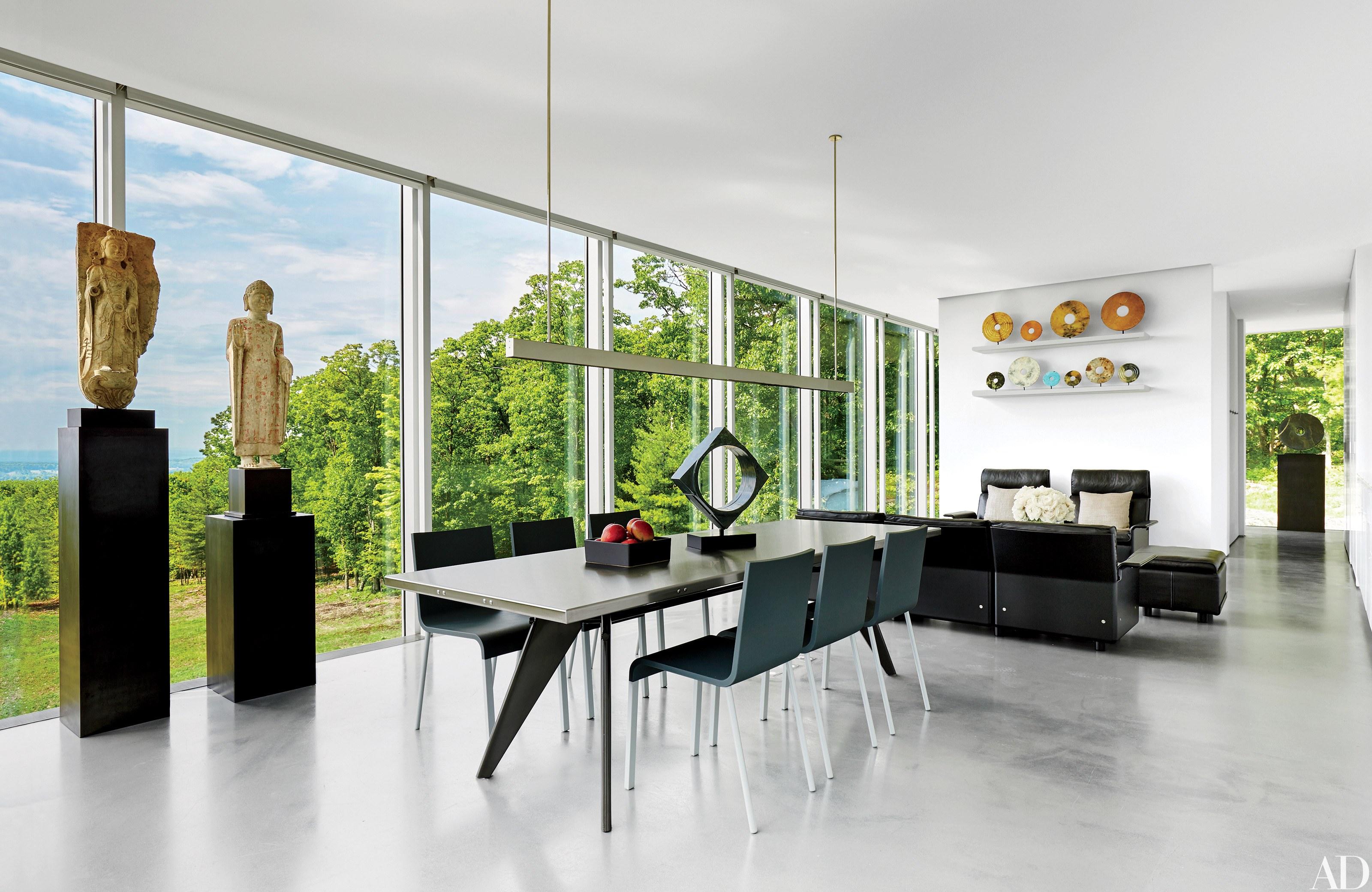 modern inredning 13 slående och eleganta rum rh architecturaldigest com Architectural Charming Interior Designs architectural
